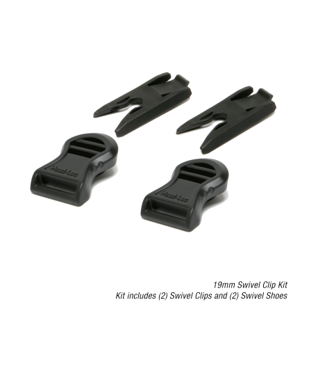 OPS-CORE GOGGLE-SWIVEL CLIPS & SHOES RAIL ADAPTER