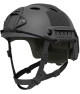 OPS-CORE FAST CARBON HIGH CUT HELMET WITH SKELETON SHROUD BLACK
